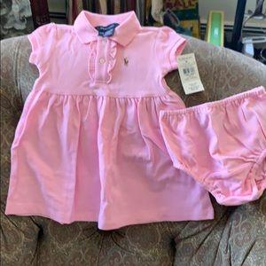 Ralph Lauren Baby Polo Dress
